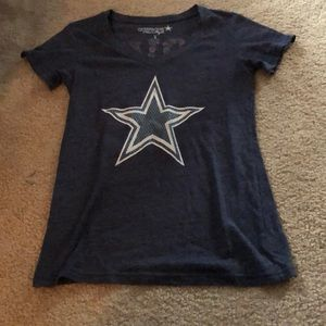 Dallas Cowboys Love Them Boys V Neck TShirt